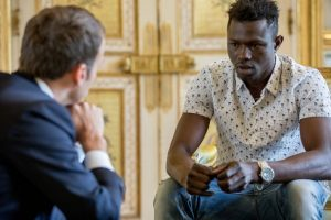 Malian boy 300x200 - Migrant granted French Citizenship for brave attempt to rescue child