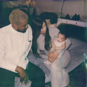 kanye west and daughter