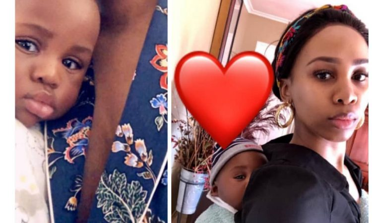 baby mama 750x450 - Ubi Franklin: Shares new photos of Nicola Siyo, and son, Shiloh