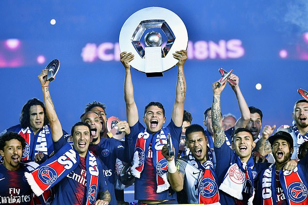 psg - Coronavirus: PSG to be crowned champions after league 1 cancellation.