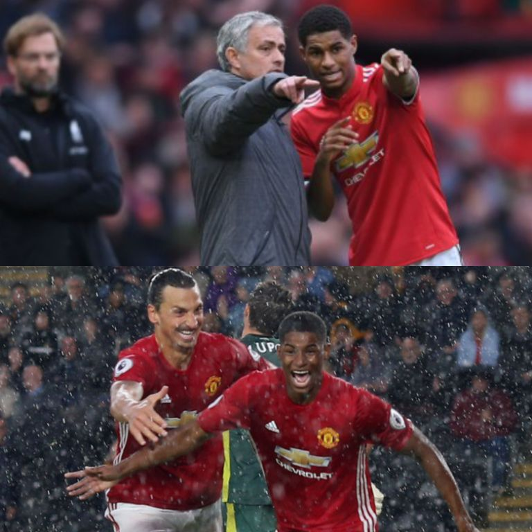 rashford - Rashford: My Career Shaped By Tough Times Under Mourinho, Ibramimovich