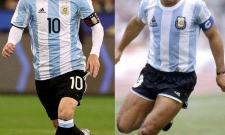 messi maradona 750x450 - WHO'S GREATER?: Maradona Was Pure Art, Messi Is Speedy Gonzales –Ayala