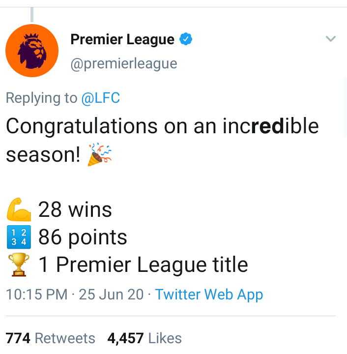 liverpool champions2 - Liverpool are now champions of the English Premier League