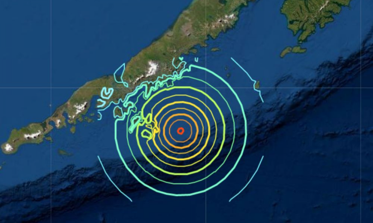 earthquake hits alaska isle