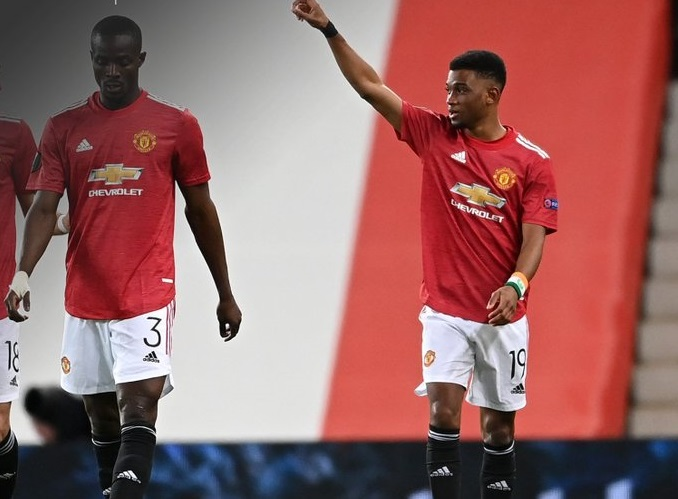 dialo 1 - See the new Manchester united player that scored a goal for the club yesterday