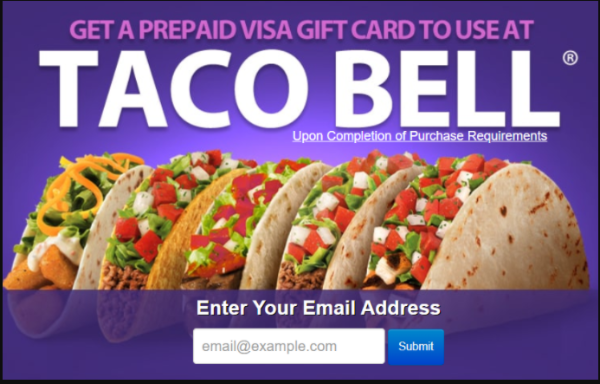 Free gift card to shop at Tacobel