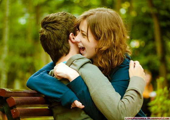two lovers2 - He is completely in love with you if he does these 7 things